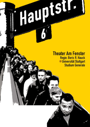 "Poster design | Play ""Hauptstr. 6"""