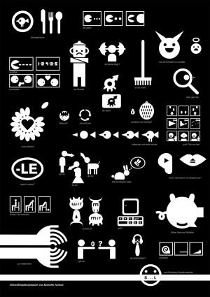 Poster design | Schwabenpiktogramme